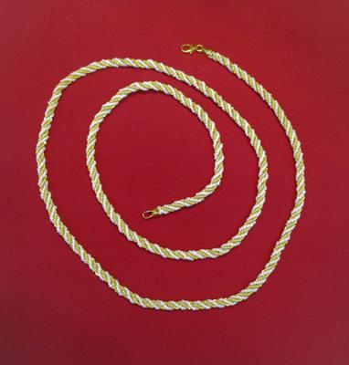Long Natural Seed Pearl Necklace 26+ Inches