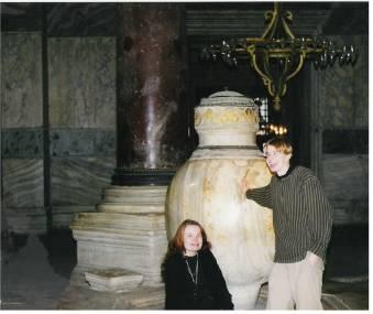 Marble Interior Hagia Sophia Istanbul