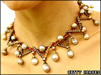 Marie Antoinette Pearls (BBC photo)