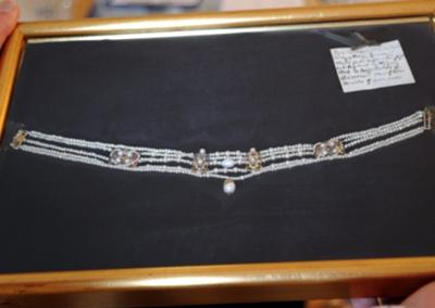 Mary Queen of Scots Necklace (photo: linlithgowgazette.co.uk)