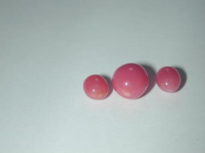 Matching Set 5.53 ct of pink Conch Pearls