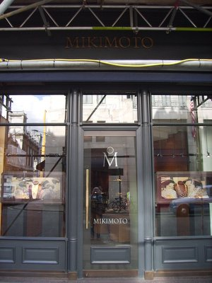 Mikimoto Store Front London