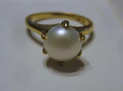 Mississippi River Pearl Ring