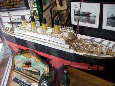 Model of Titanic
