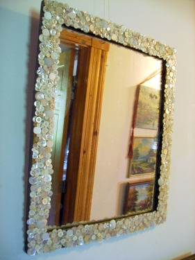 Mother Of Pearl Mirror Quickly