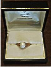 Natural Mississippi River Pearl Ring