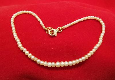 Natural Basra Pearl Adjustable Bracelet
