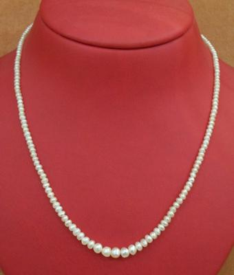 Natural Basra Pearl Necklace