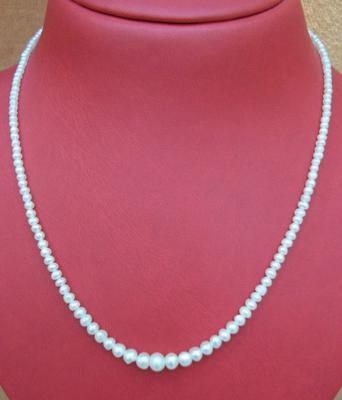 Natural Basra Pearl Necklace 31.52 carats