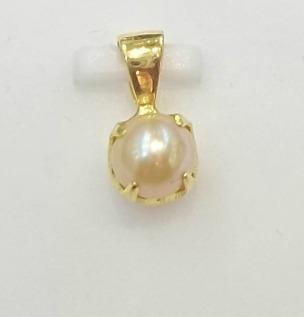 Natural basra pearl pendant 18k gold aloadofball Choice Image