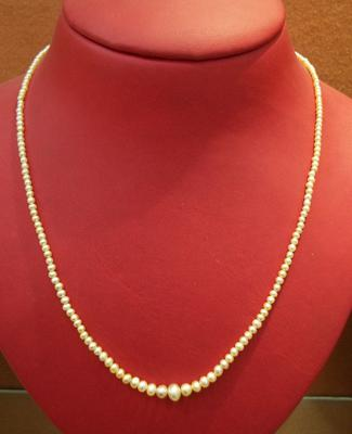 Natural Basra Pearls in a Lovely Strand