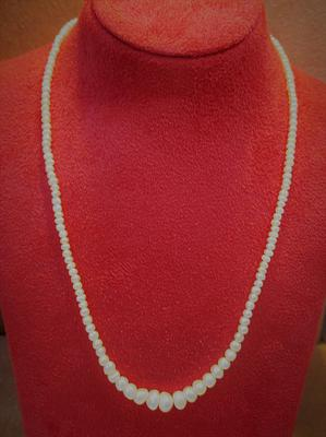 Natural Basra Persian Gulf Pearl Necklace Strand 48+ carats