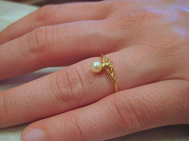 Natural Pearl Ring