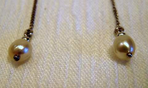 Natural Pearl Earrings