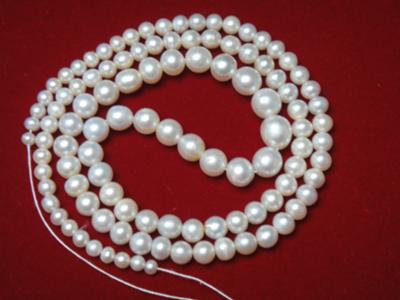 Natural pearl necklace Bahrain Certified 47.40 carat