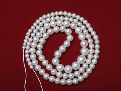 Saltwater natural pearls