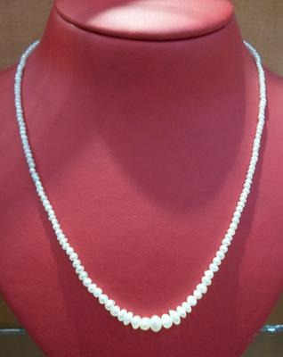 Natural Pearl Necklace of Basra Pearls