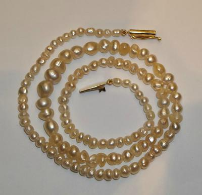 Natural Saltwater Necklace