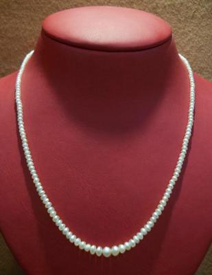 34.23 Carat Natural Basra Pearl Necklace