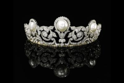 Natural Pearl - Murat Tiara <I>Photo: Sotheby's</I>