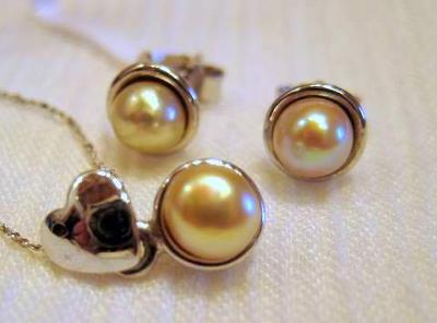 Natural Persian Gulf Pearl Jewelry