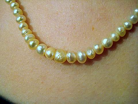 Natural Pearl Jewelry Necklace