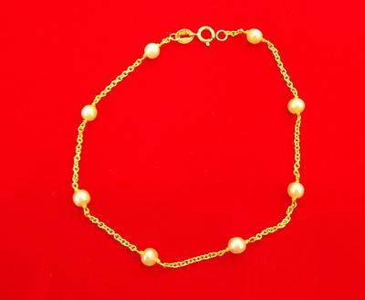 Natural Saltwater Pearl Bracelet of 7.64 carats