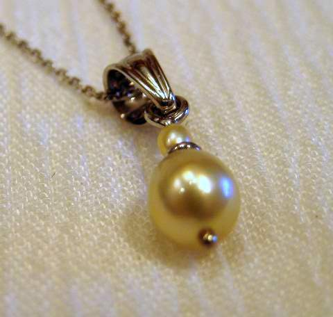 Natural Saltwater Pearls