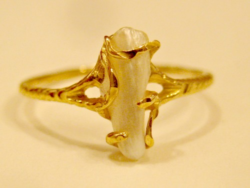 natural tennessee river pearl ring