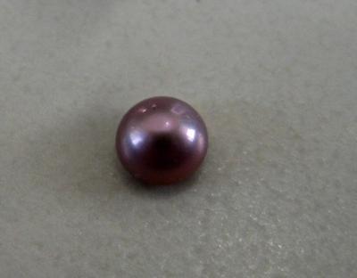 Rare Purple 0.25 carat natural pearl