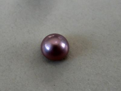 Rare Purple 0.25 carat natural pearl