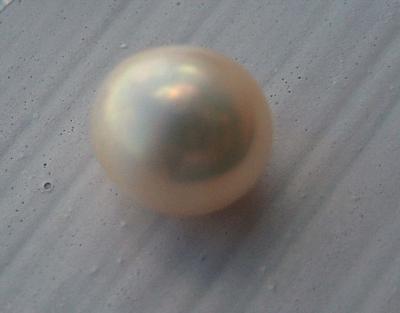 1.55ct  Natural USA Pearl