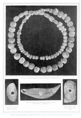 Ohio river pearls found in Indian mounds