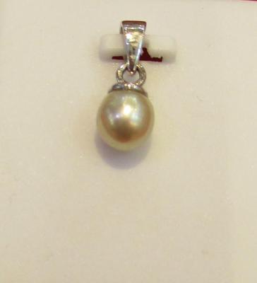 1.41 ct Basra Pearl Pendant