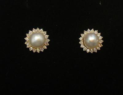 Pair Natural Basra Pearls  2+carats