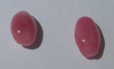 Pair of Pink Conch Pearls 2.01 carats Total Weight