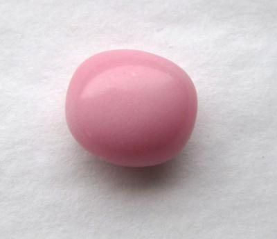 Pastel Pink Conch Pearl Clean Surface Oval Shape 4.40 carats