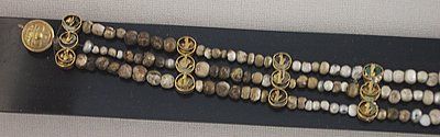 Pearl Necklace found by J. de Morgan