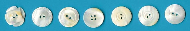white pearl buttons