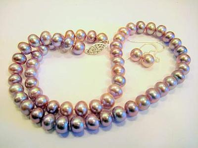 Lavender Chinese Cultured Pearls