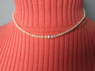 Persian Gulf Natural Pearl Necklace - 35 carats