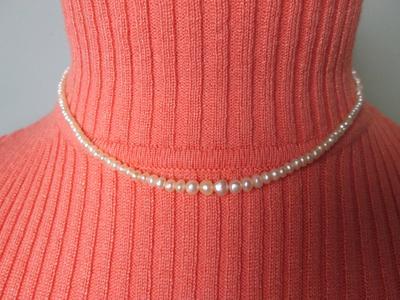 Persian Gulf Natural Pearl Necklace - 35 carats