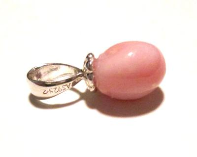 Pink Conch Pearl Pendant on Sterling Silver 3+ carats