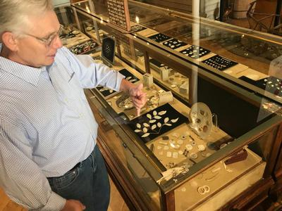 Terry Eagle, Director, Muscatine Button Museum