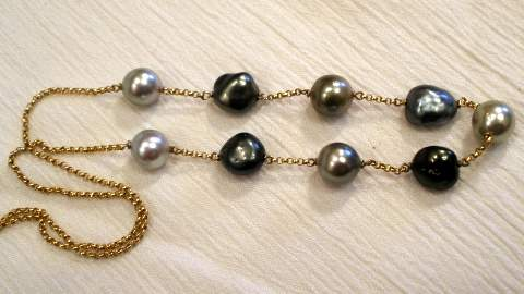 Purchase Tahitian Pearl Necklace