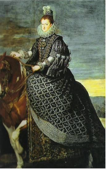 Queen Margarita on Horseback