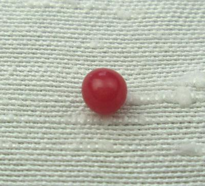 Round Red Conch Pearl 3mm