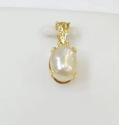 Salt Water Natural Basra Pearl Pendant