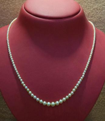 Salt Water Natural Pearls & 32.91 Carat