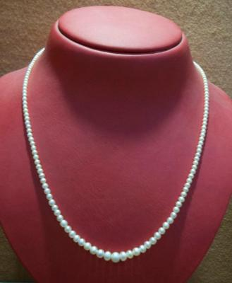 31.08 Carat Natural Basra Pearl Necklace